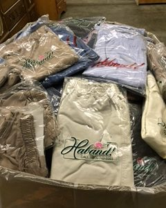 Haband Clothes Pallet $150.00