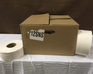 Toilet Paper Industrial Rolls $2.00 Each