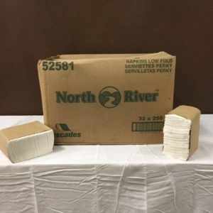 Low-fold Napkins $20.00 Case