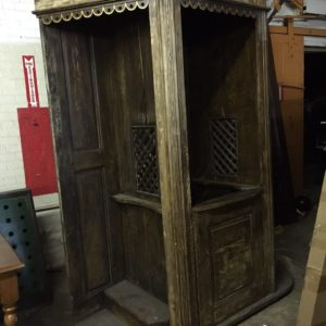 Confession Booth SOLID WOOD