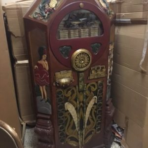 Jukebox Cabinet With Light