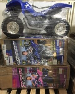 6 Pallets Of Power Wheels $1650.00