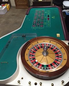 Roulette Table From Trump Casino $5000.00